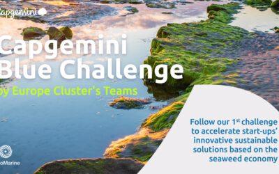 Notre participation au « Capgemini Blue Challenge » : un défi au service de l'innovation et des projets liés à l'algue